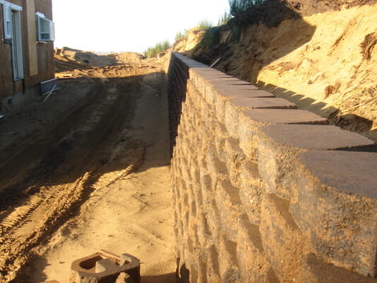Custom built retaining walls | Junction City Oregon